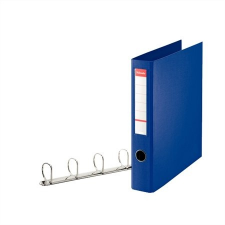 """ESSELTE Gyűrűs könyv, 4 gyűrű, D alakú, 60 mm, A4 maxi, PP/PP,  """"Jumbo"""", Vivida kék gyűrűskönyv"""