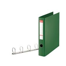 """ESSELTE Gyűrűs könyv, 4 gyűrű, D alakú, 60 mm, A4 maxi, PP/PP,  """"Jumbo"""", Vivida zöld gyűrűskönyv"""
