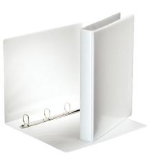 ESSELTE Gyűrűs könyv, panorámás, 4 gyűrű, D alakú, 40 mm, A4, PP/PP, , fehér mappa