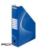"ESSELTE Iratpapucs, karton, 80 mm, összehajtható, ESSELTE ""Standard"", kék"