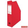 ESSELTE Iratpapucs, PP/karton, 70 mm, összehajtható, ESSELTE, Vivida piros