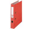ESSELTE Iratrendező, 50 mm, A4, karton, ESSELTE Rainbow, piros (E17921)