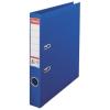 ESSELTE Iratrendező, 50 mm, A4, PP/PP, élvédő sínnel, ESSELTE Standard, kék