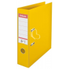 "ESSELTE Iratrendező, 75 mm, A4, PP/PP, élvédő sínnel, ESSELTE ""Standard"", sárga"
