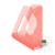 ESSELTE Irattartó papucs ESSELTE Colour'Ice 68mm műanyag áttetsző barack