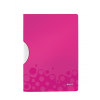 Esselte Kft. LEITZ WOW Colorclip, rózsaszín