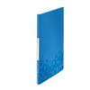 Esselte Kft. LEITZ WOW iratvédő mappa, 20 tasakos, kék