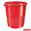 ESSELTE Papírkosár, 14 liter, ESSELTE Europost, Vivida piros (E623947)
