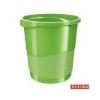 ESSELTE Papírkosár, 14 liter, ESSELTE Europost, Vivida zöld