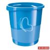 "ESSELTE Papírkosár, 14 liter, ESSELTE ""Europost"", Vivida kék"