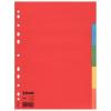 """ESSELTE Regiszter, karton, A4, 5 részes,  """"Economy"""", színes"""