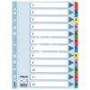 "ESSELTE Regiszter, laminált karton, A4, 1-12, ESSELTE ""Mylar"""