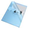 """ESSELTE """"Standard"""" """"L"""" A4 105 mikron narancsos felületű kék genotherm"""