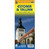 Észtország és Tallinn térkép - ITM