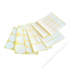 . Etikett,  40x80 mm, 60 etikett/csomag (ISCIN4080)