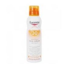 Eucerin SUN FF30 SZÍNTELEN NAPOZÓ SPRAY  200 ML naptej, napolaj
