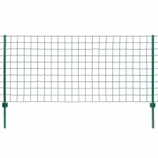 Euro Fence zöld acélkerítés 20 x 0,8 m kerti dekoráció