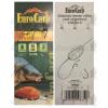 Eurocarp előkötött feeder előke csaliszigonnyal Chinu-6 10cm 15lbs