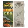 Eurocarp előkötött feeder előke csaliszigonnyal Chinu-8 10cm 12lbs