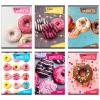 Eurocom Street: Donuts négyzetrácsos füzet - A4, 87-54, többféle