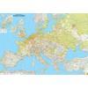 Európa domborzata falitérkép - f&b