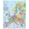 Európa irányítószámos falitérkép - Stiefel
