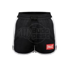 Everlast Box nadrág, Everlast, Laly Short, női, fekete-fehér, L méret