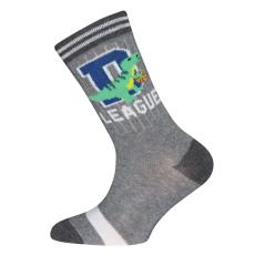 EWERS fiú zokni Dinoszaurusz 23 - 26 szürke