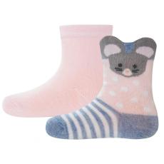 EWERS két páros zokni szett lányoknak 16 - 18 rózsaszín