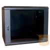 """Excel-Networking Excel WBFP12.5SGB 12U 600X500mm mély 19""""-os fali rack szekrény, fekete színben"""