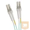 Excel-Networking Optikai duplex patch kábel LC-LC 50/125 OM4 2m-AQUA (204-301) EXCEL