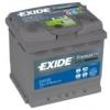 EXIDE 53Ah EXIDE Premium EA530 autó akkumulátor jobb+