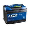 EXIDE Excell 74Ah 680A (EB740) Jobb+
