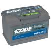 EXIDE Premium EA722 72Ah 720A autó akkumulátor