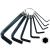 Extol Craft imbuszkulcs klt.; 10 db, (H2-2,5-3-4-5-6-8-10-12-14 mm)