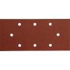Extol csiszolópapír, lyukas klt. 10db, 93×190 mm, P100, 407112/407113/407115-höz (Csiszolópapír)