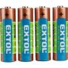 Extol elem készlet 1,5 V AA, LR6 4db (42011)