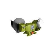 Extol Extol kettős köszörűgép 250W, vizes/száraz:200mm×20×40/150×12,7×20mm, 134/2950 ford/perc, 8,5kg köszörű