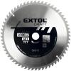 Extol Extol körfűrészlap, keményfémlapkás, 300×30mm(lyuk átm), T60; 3,3 mm lapkaszélesség, max. 5000 ford/perc