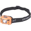 Extol LED fejlámpa, 3 W, CREE XPL, 100 Lumen; tölthető akkuval, 3 funkció (LED fejlámpa)