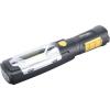 Extol LED lámpa, 3 W COB + 6 LED, 280 Lumen, műanyag ház, mágnes+ akasztó, gumis markolat, elem nélkül