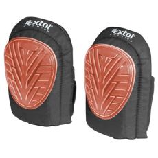 Extol Térdvédő gumi, zselés, 2 db, tépőzáras pánt (Térdvédő)