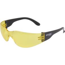 Extol Védőszemüveg, sárga, polikarbonát, CE (Védőszemüveg)