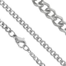 Extreme Silver Nemesacél nyaklánc / 50 cm nyaklánc