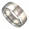 Extreme Silver You & Me Collection - Karikagyűrű, jegygyűrű / 58 mm