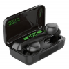 F9-10 TWS Bluetooth Headset - fekete