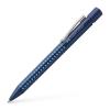 Faber-Castell Golyóstoll, 0,5 mm, nyomógombos, FABER-CASTELL  Grip 2010 , kék-világoskék