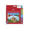 Faber-Castell : Kétoldalú színes ceruza készlet, 24+ 3db-os