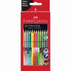 """Faber-Castell Színes ceruza készlet, háromszögletű,  """"Colour Grip"""", 12 különböző szín"""