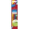 """Faber-Castell Színes ceruza készlet, háromszögletű, FABER-CASTELL \""""Grip 2001\"""", 6 különböző szín [6 db]"""